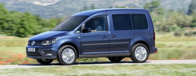 panoramica Caddy TGI veicoli commerciali Volkswagen
