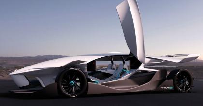 panoramica TORQ design auto guida autonoma