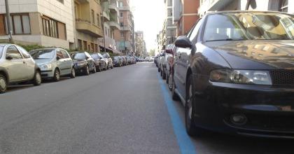 parcheggiare a Milano sanzione strisce blu 2017