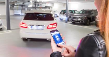 parcheggio autonomo Bosch Salone di Francoforte 2017