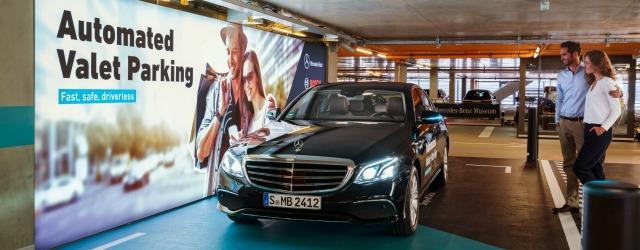 parcheggio autonomo Daimler Bosch