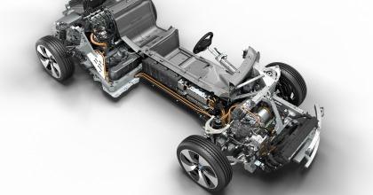 particolare architettura BMW i8