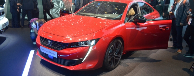 Peugeot 508 al Salone di Ginevra 2018