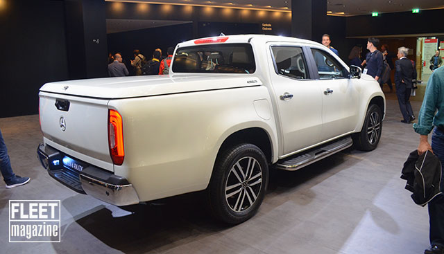 Nuovo Pick Up Mercedes Classe X
