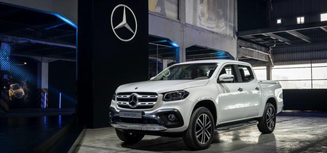 Un ingresso tra i pick-up: la Nuova Mercedes Classe X 2017