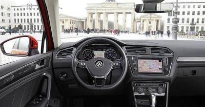 plancia nuova Volkswagen Tiguan 2016 Berlino