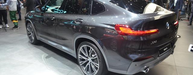BMW X4 al salone di ginevra 2018