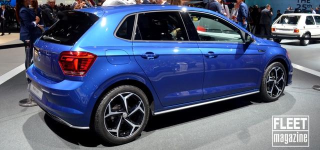 Posteriore Volkswagen Polo Salone di Francoforte 2017