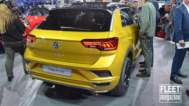 Posteriore Volkswagen T-Roc Salone di Francoforte 2017