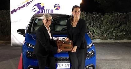 La premiazione di Citroen C3 quale Auto Europa 2018
