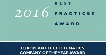 premio Frost&Sullivan TomTom Telematics