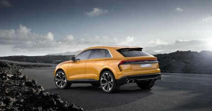 presentazione nuova Audi Q8 Sport Concept 2017