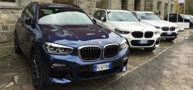 presentazione nuova BMW X3