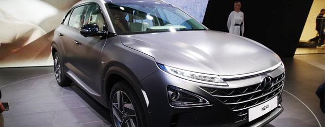 Hyundai Nexo al Salone di Ginevra 2018