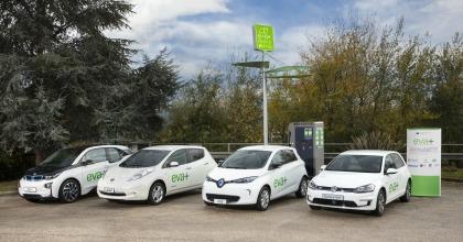 progetto Eva+ modelli auto elettriche