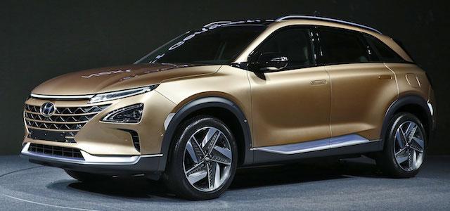 Il prototipo che prepara la strada al nuovo Suv Hyundai Fuel Cell