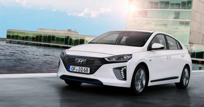 immagini dalla prova Hyundai Ioniq