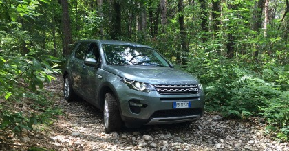 prova Land Rover Discovery Sport 2016