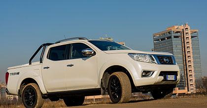 Prova nuovo Nissan Navara