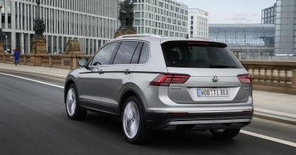 prova Volkswagen Tiguan 2016 posteriore