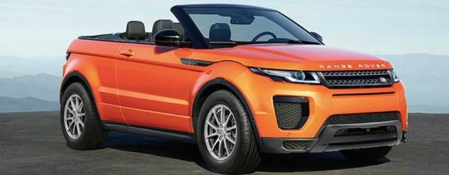Range Rover Evoque Convertible è l'ultima entrata nella Dream Collection Hertz