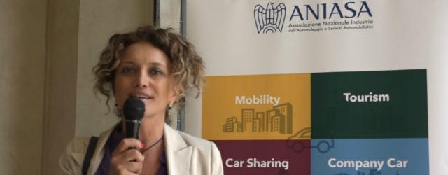 Silvia Salemi di Targa Telematics ha partecipato alla presentazione del Rapporto ANIASA 2016