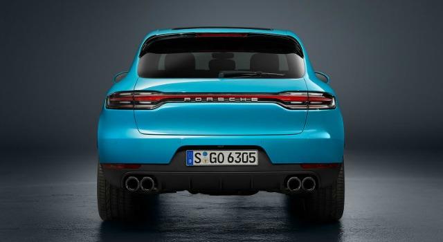 retro nuova Porsche Macan 2019