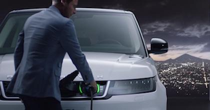 La ricarica possibile sulla nuova Range Rover Sport 2018 Plug-in Hybrid