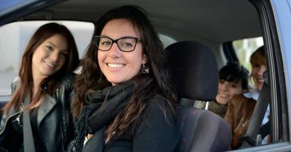 Il ride sharing BlaBlaCar in un'immagine generica
