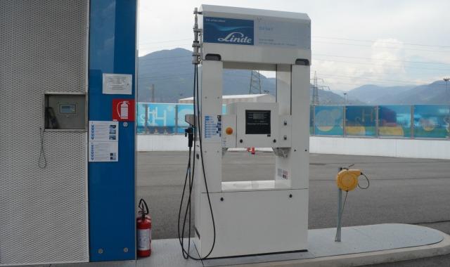 rifornimento auto a idrogeno Bolzano