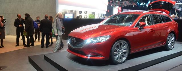 La Mazda6 statica al Salone di Ginevra 2018