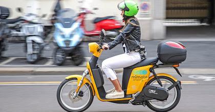 Lo scooter sharing MiMoto ha debuttato a Milano
