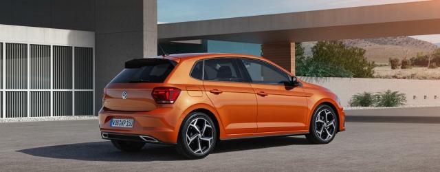 La silhouette più spigolosa della nuova Volkswagen Polo 2017