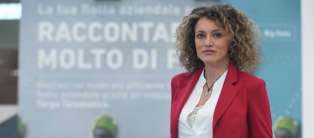 Silvia Salemi, direttore Marketing di Targa Telematics