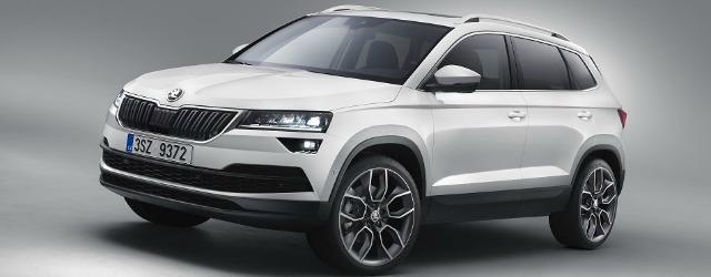 Škoda Karoq sarà parte della gamma Skoda 2018