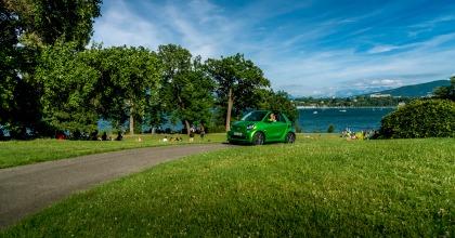 La smart fortwo cabrio electric drive