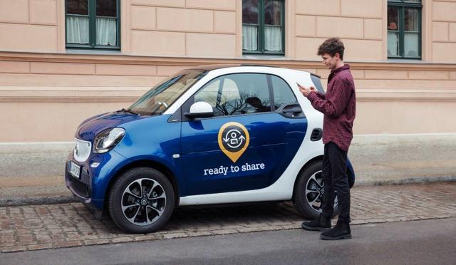 smart ready to share auto condivisa