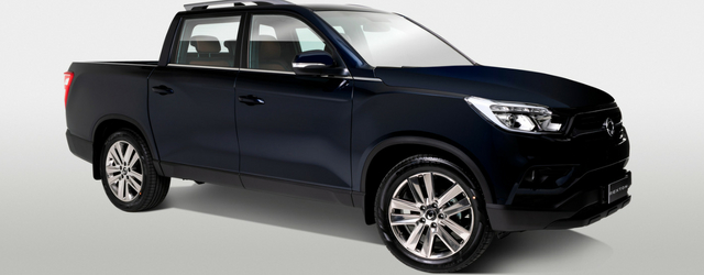 Rexton Sports, il nuovo pick up SsangYong