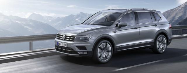 Tra i SUV Volkswagen c'è la Nuova Tiguan Allspace