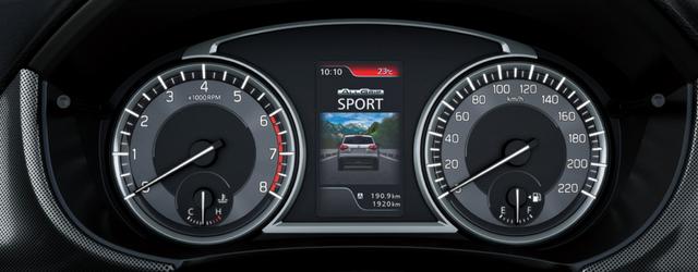 nuova Suzuki Vitara quadro strumenti