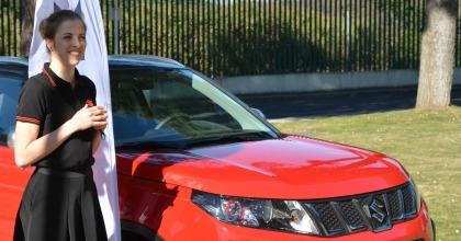 Suzuki Vitara S è la vettura usata da Carolina Kostner