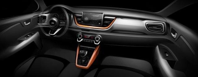 Il teaser relativo agli interni del nuovo Kia Stonic - categoria crossover urbani