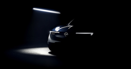 Il teaser ci restituisce una prima impressione sul nuovo Suv Opel elettrico annunciato