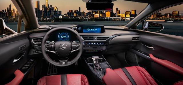 tecnologia nuova Lexus UX 2019