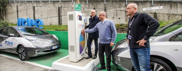 tecnologia V2G Vehicle to Grid grazie a Nissan, Enel e IIT
