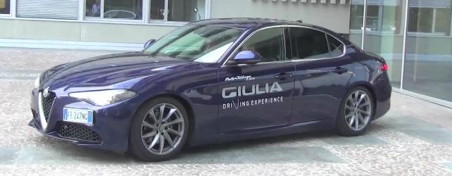 test drive Alfa Romeo Giulia noleggio lungo termine