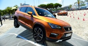 test off-road prova SEAT Ateca