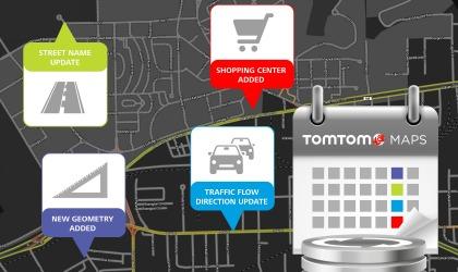 Aggiornamento mappe TomTom
