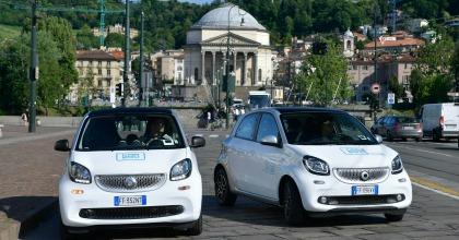 il Car Sharing Car2go a Torino