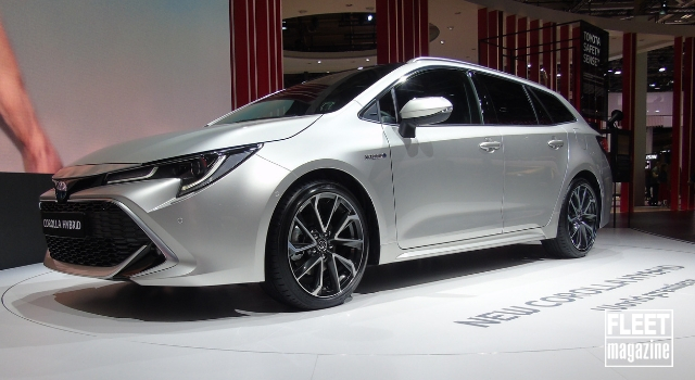 Toyota Corolla 2019 Hybrid al Salone di Parigi
